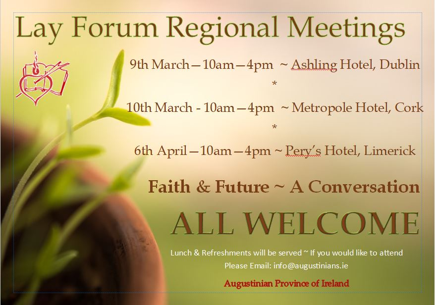 Lay Forum 2019 Limerick @ Pery's Hotel, Limerick